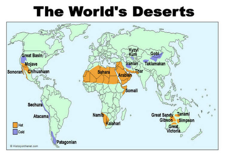 Maps the gobi desert arctic polar 14 million km alaska canada greenland iceland norway sweden finland russia sahara subtropical 9 million km2 northern africa gumiabroncs
